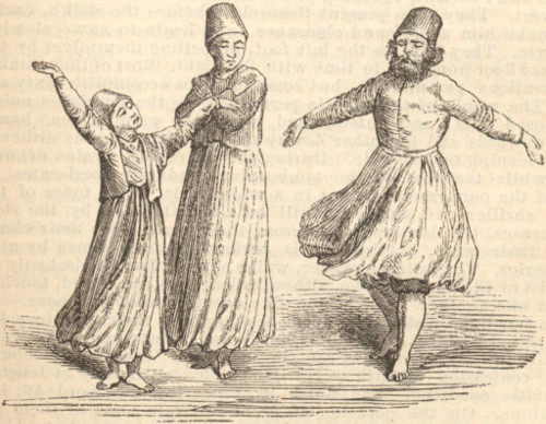[whirling dervishes]